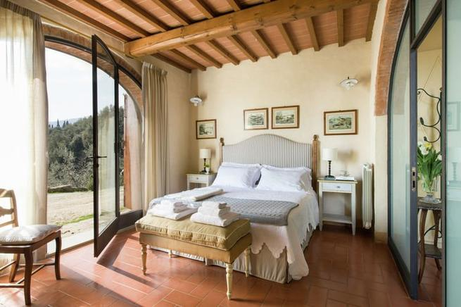 San Donato, Toskana, Ferienhaus 4 Personen, mit Hund, Pool ...